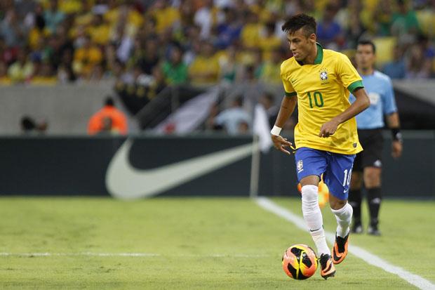 Brasil divulga números dos jogadores na Copa  Neymar vestirá a camisa 10 00ad038107020